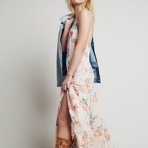 Free People Dresses - Free People 'Star Chasing' Maxi Slip Dress